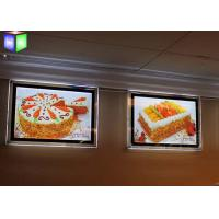 Wholesale Custom Menu Slim Crystal LED Light Box Backlit Acrylic Sheet Wall Mounting from china suppliers