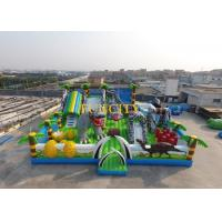 Wholesale Fantastic Inflatable Obstacle Course Equipment With 0.55mm Pvc Tarpaulin from china suppliers
