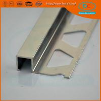 Wholesale 6063 Chorme Aluminum tile trim ,aluminum extrusion from china suppliers