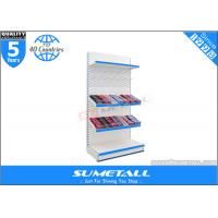 Wholesale Steel Supermarket Display Racks  , Jura White Commercial Display Shelves For Stores from china suppliers