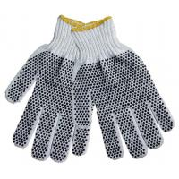 Wholesale Convertible PVC Dotted crocheted Polyester String Knit Gloves for women  TCDP01 from china suppliers
