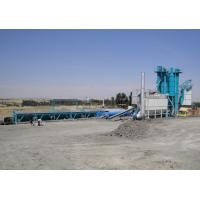 Wholesale 80T Hot Aggregate Silo Asphalt Plant With 300000 Batches Mixing Blade Life Time from china suppliers