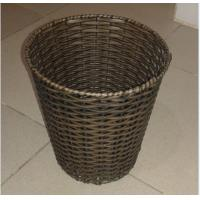 Wholesale PP Rattan Trash Basket from china suppliers