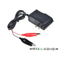 Wholesale Alligator Clips Battery Charger With LED When Charging Red Charged Green from china suppliers