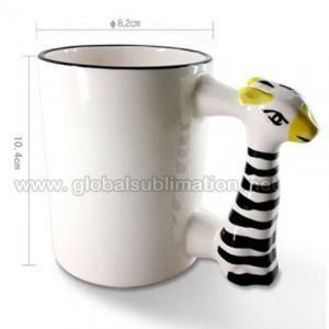 Buy cheap 11oz Animal mug_Ceramic mug_Sublimation Mug_Excellent Gift from wholesalers