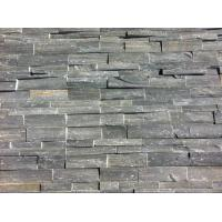 Wholesale Grey Slate Stacked Stone,Rough Face Slate Stone Veneer,Natural Z Stone Cladding,Outdoor Stone Panel from china suppliers