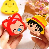 Quality Cute animal lovely key cap for sale
