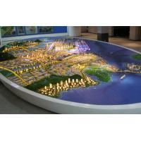 Wholesale Strong City Layout Architectural Model Maker , Miniature City Layout Model from china suppliers