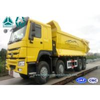 Quality 420Hp Heavy Mining Trucks With Front Tipping Manual Transmission , 50km/H Max Speed for sale