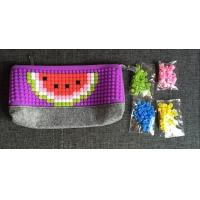 Buy cheap Free sample China factory panel pixel silicone pencil case from wholesalers
