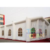 Wholesale 20x10x6m Inflatable Tents , White Decorative Inflatable Marquee Tent For Event from china suppliers