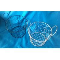 Quality Handmade,wire clam baskets,wholesale  wire egg basket for sale
