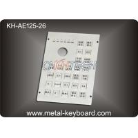 Wholesale 26 keys Customized Layout Industrial Metal Keyboard with Functions Keys from china suppliers