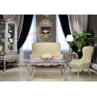 Wholesale Nice Design for Neoclassical Leisure Sofa set by Wooden Carving Frame and Fabric from china suppliers
