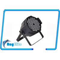 Wholesale Double bracket 54 x 3W IP65 led par light 3200K rainbow effect rgb stage lighting from china suppliers