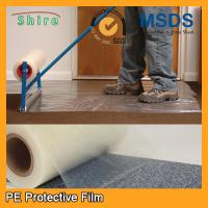 Wholesale Heavy Duty Car Carpet Protector Film , Sticky Back Plastic Carpet Protector Film from china suppliers