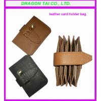 Wholesale leather card holder, card wallet manufactory from china suppliers