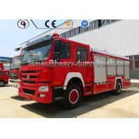 Wholesale 20 Cbm Firefighter Truck Sinotruk 4 By 2 Left Hand Drive Reliable Performance from china suppliers