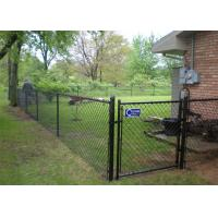 Wholesale High quality yard guard chain link fence/High quality used galvanized/pvc coated chain link fence from china suppliers