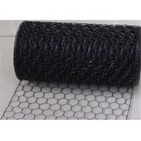 Wholesale Professional Weaving 18 Gauge Electric Galvanized Black Vinyl Chicken Wire for Cages from china suppliers