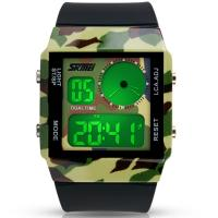 Wholesale Army Color LCD Analogue Watch from china suppliers