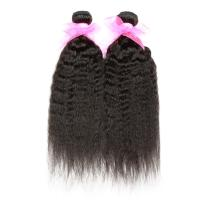 Quality Cuticle virgin Brazilian hair weave ,kinky straight for sale