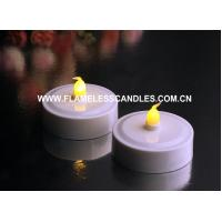 Buy cheap Jumbo Flickering Amber LED Tealights, Longer Running Time from wholesalers