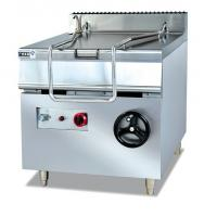 Wholesale Restaurant Commercial Kitchen Equipments 50HZ , ZH-RS 80L Electric Tilting Pan from china suppliers