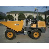 Wholesale 1500L Skip Capacity Hydraulic Tipping Hopper Concrete  3 tons Dumper with Diesel Engine from china suppliers