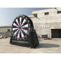 Wholesale Giant Inflatable Football Dart Board Outdoor Sports Games For Sale from china suppliers