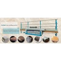 Industrial Auto Glass Processing Equipment Vertical Stone Profiling Machine