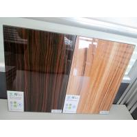 Quality wood grain UV glossy board for furniture for sale