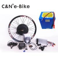 Wholesale Electric Bike Hub Motor Conversion Kit With Batteries And Multifunction TFT Display from china suppliers