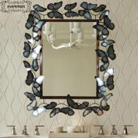 Wholesale metal mirror design iron craft dresser from china suppliers