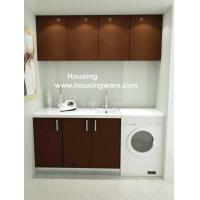 Wholesale Waterproof Laundry Room Storage Cabinet with Low Splitting & Rotting from china suppliers