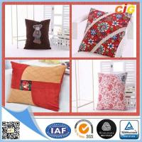 Quality Custom Cotton Digital Printed Decorative Cushion Covers / Embroidered Cushion Case for sale
