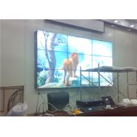 Wholesale Splicing Screen LCD Broadcast Video Wall Display 3x3 55 Inch For Exhibition Center RS232 from china suppliers