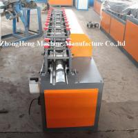 Wholesale Galvanized Steel Shutter Door Roll Forming Machine With Punching 8 - 10 m / min from china suppliers