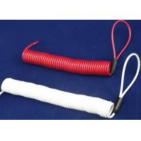 Wholesale Double Loops White/  Red Coil Spiral Spring Steel Cable For Tool Use from china suppliers