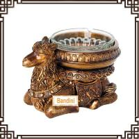 Wholesale lovely resin camel Ashtray resin home crafts and household decorative ashtray DA0340GE from china suppliers