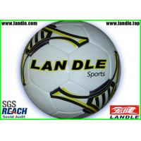 Wholesale Official Size 5 Weight Real Leather Soccer Ball / Hand Sewn Hand Stitched from china suppliers