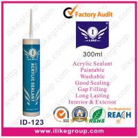 Quality Mildew Resistant Sealing Gap Acrylic Sealant , Paintable And Flexible for sale