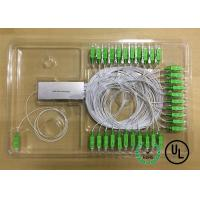 Wholesale 1X64 Single Mode Fiber Coupling 0.9mm package D Input and output Fiber Length 1m from china suppliers