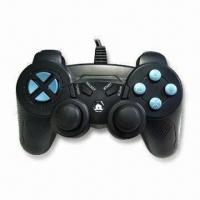 Wholesale PC Gamepad with 4 LED Indicators and Trigger Design for L2/R2 from china suppliers