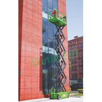 Wholesale Hydraulic motor drive Self Propelled Scissor Lift access platform max 13.8m from china suppliers