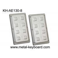 Wholesale 8 Keys Stainless Steel Keyboard Number Functional Keypad For Industrial Control Platform from china suppliers