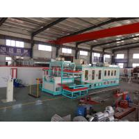 Quality Automatic PS foam Disabled food container vacuum forming machine for sale