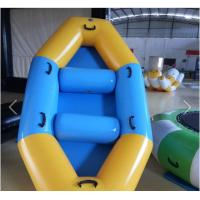 Wholesale SGS Approval Customized PVC Inflatable Boat For Two Men / Three Man / Four Men from china suppliers