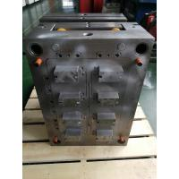 China Black Plastic Mould Plastic Injection Production PP Custom Material Fixed Installation on sale