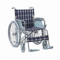 Wholesale Mini/Foldable/Portable Wheelchair with Aluminum Chair Frame and CE/FDA/ISO Certifications from china suppliers
